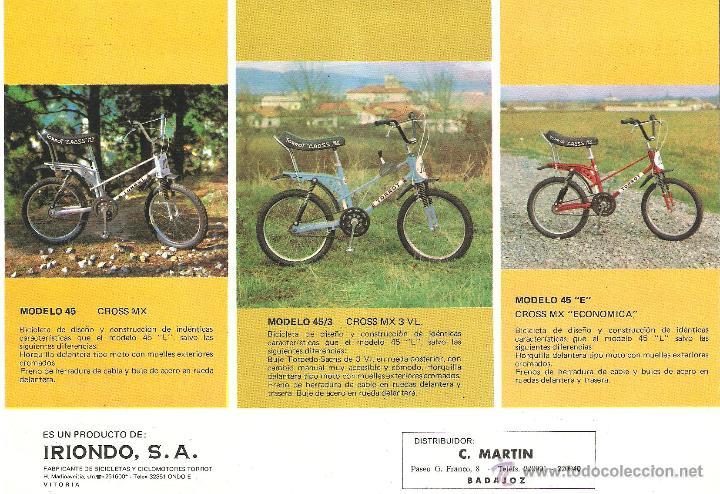 Restauración bicicleta Torrot MX 40940310