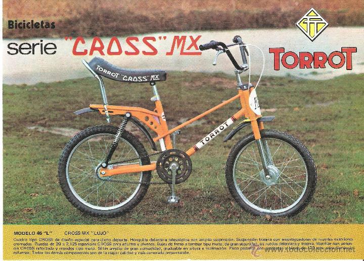 Restauración bicicleta Torrot MX 40940311