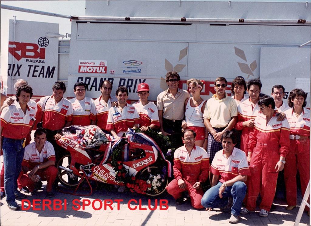 derbi - Camión Grandes Premios equipo Derbi 46739010
