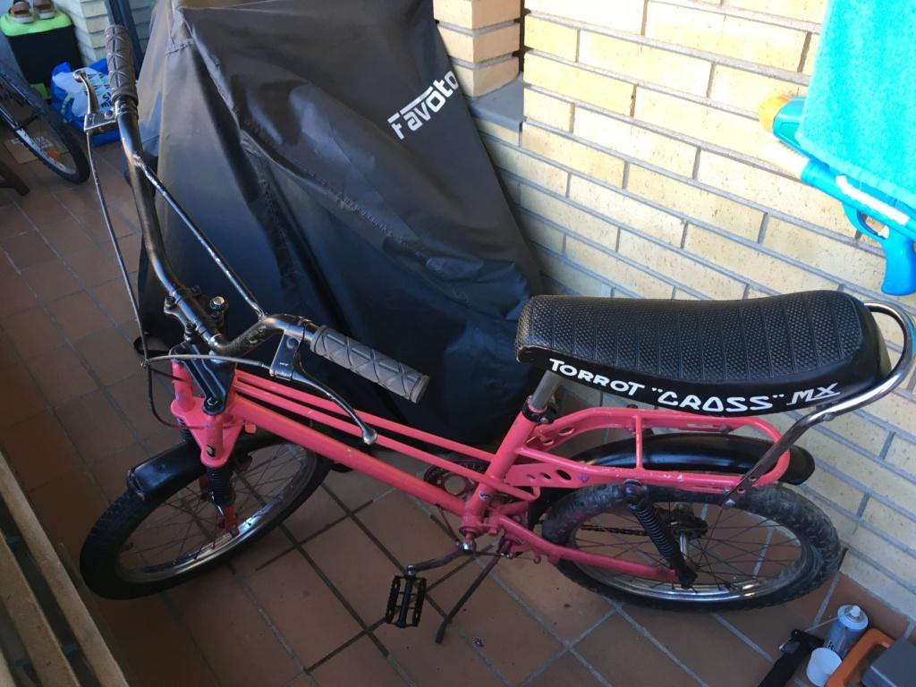 Restauración bicicleta Torrot MX Image019