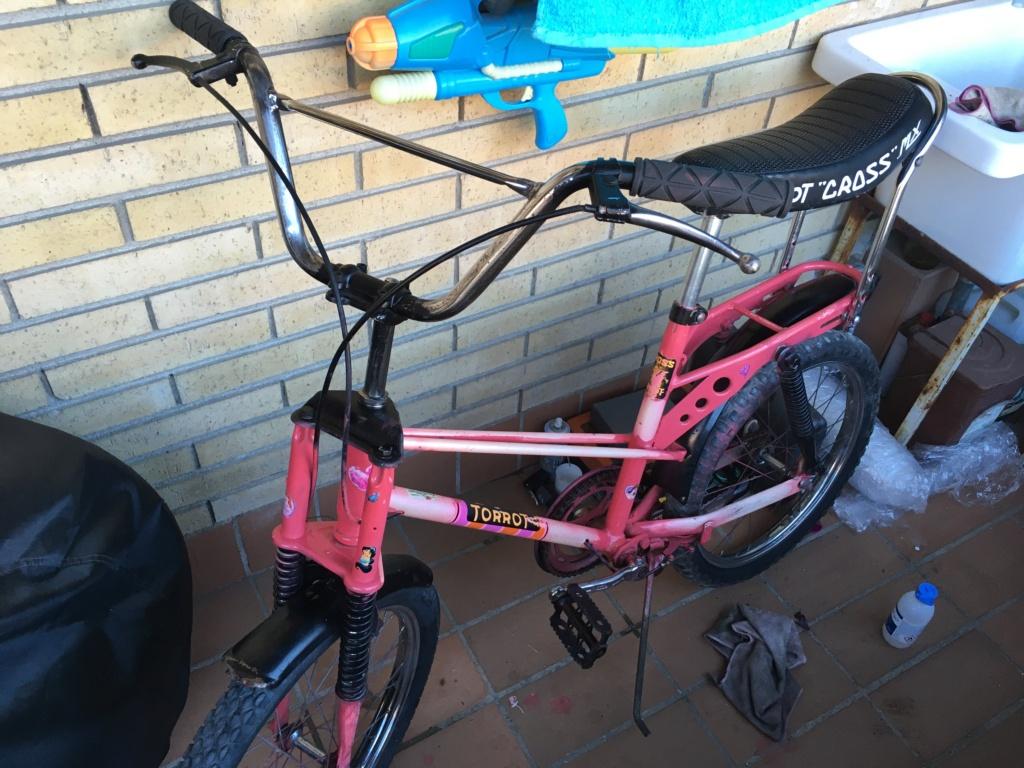 Restauración bicicleta Torrot MX Image021