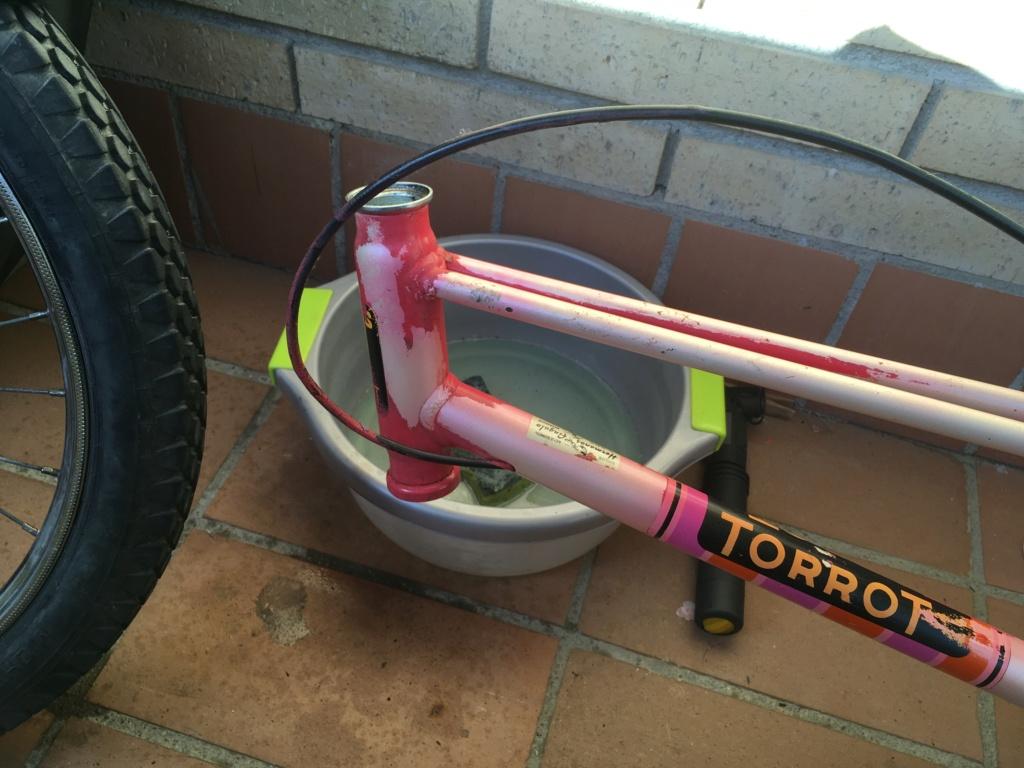 Restauración bicicleta Torrot MX Image027