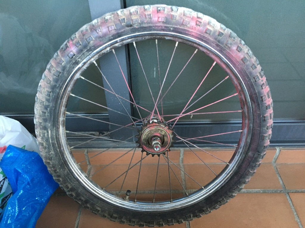 Restauración bicicleta Torrot MX Image038