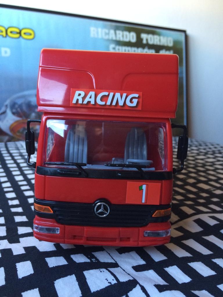 derbi - Camión Grandes Premios equipo Derbi Img_6814
