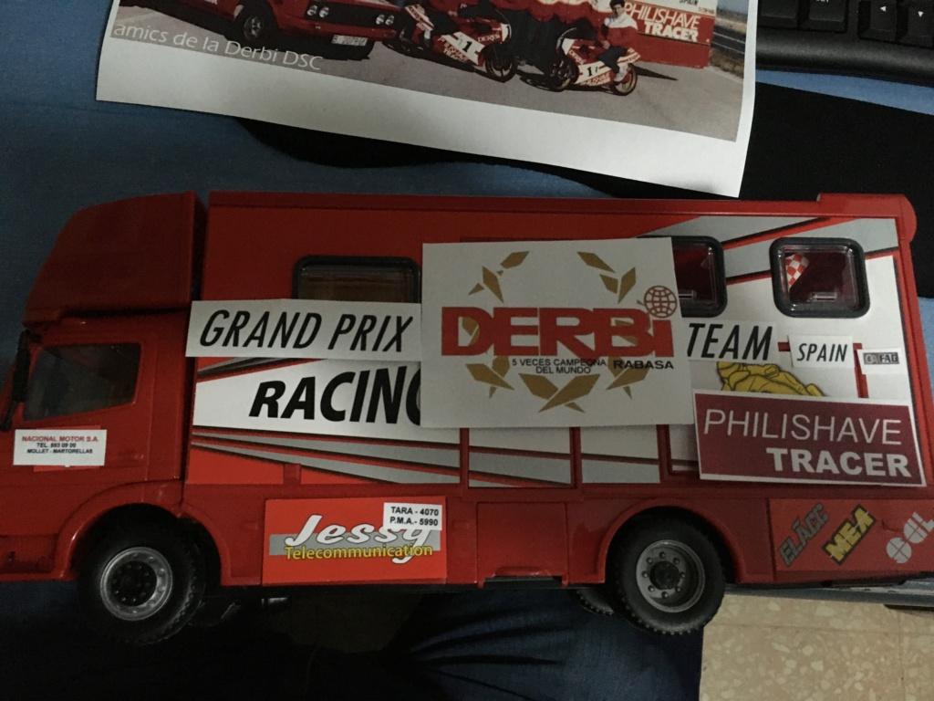 derbi - Camión Grandes Premios equipo Derbi Img_8618