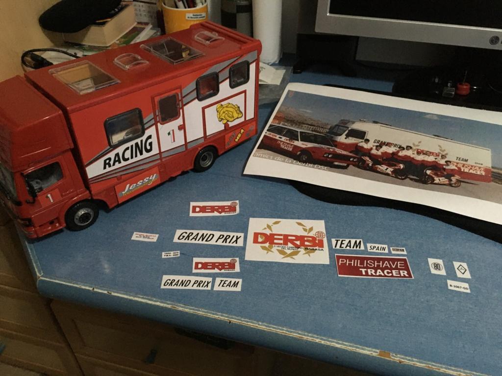 derbi - Camión Grandes Premios equipo Derbi Img_8619