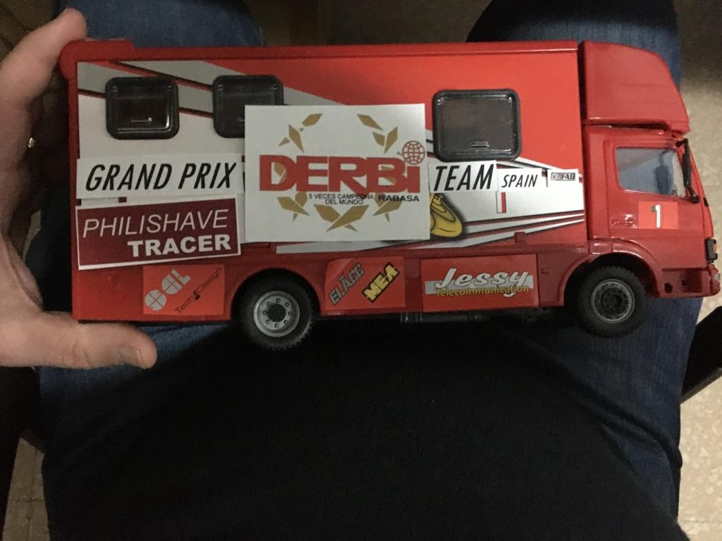 derbi - Camión Grandes Premios equipo Derbi Img_8627