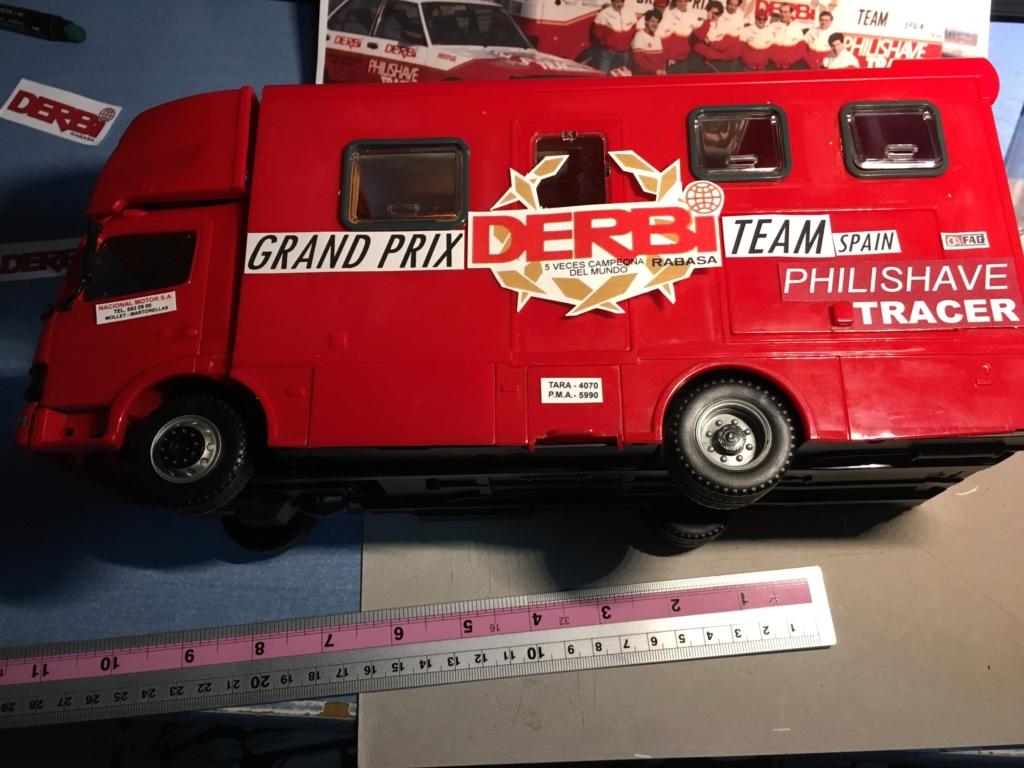derbi - Camión Grandes Premios equipo Derbi Img_8629