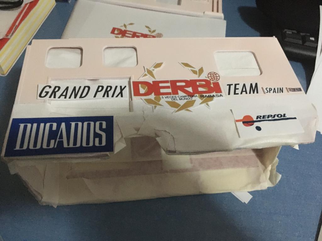 derbi - Camión Grandes Premios equipo Derbi Img_8819