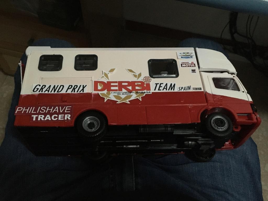 derbi - Camión Grandes Premios equipo Derbi Img_8916