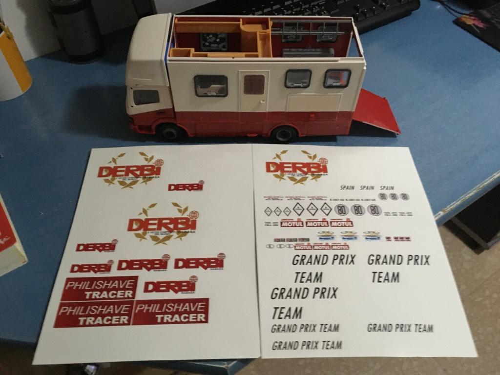 derbi - Camión Grandes Premios equipo Derbi Img_8934