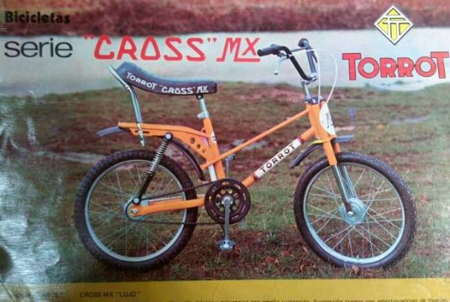 Restauración bicicleta Torrot MX Las-bi10