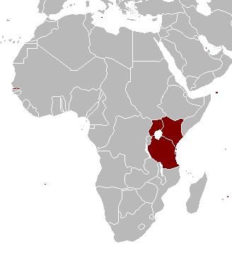 ÁFRICA ORIENTAL ALEMANA: 1 Rupia, 1897 Africa10