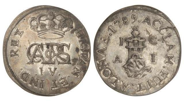 Repro de medalla de proclamación de Carlos IV. Image010