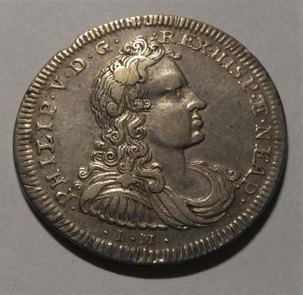 ½ Ducado de Felipe V - Nápoles, 1702 Img_2025