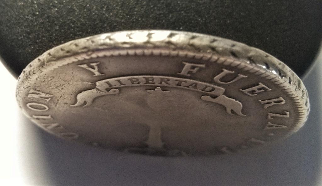1 Peso de Chile - Resello de Isabel II, Manila, 1834-37 Img_2029