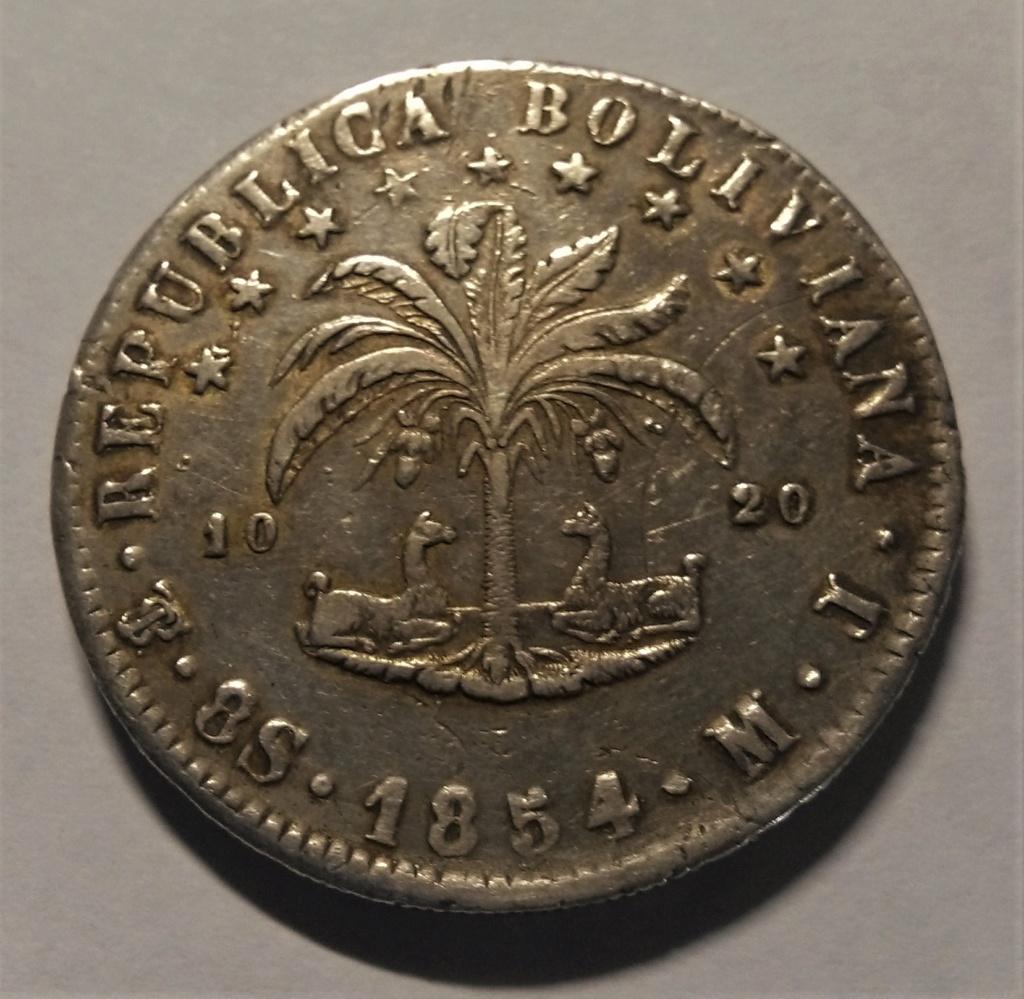 8 Soles - Bolivia, 1854 Img_2031