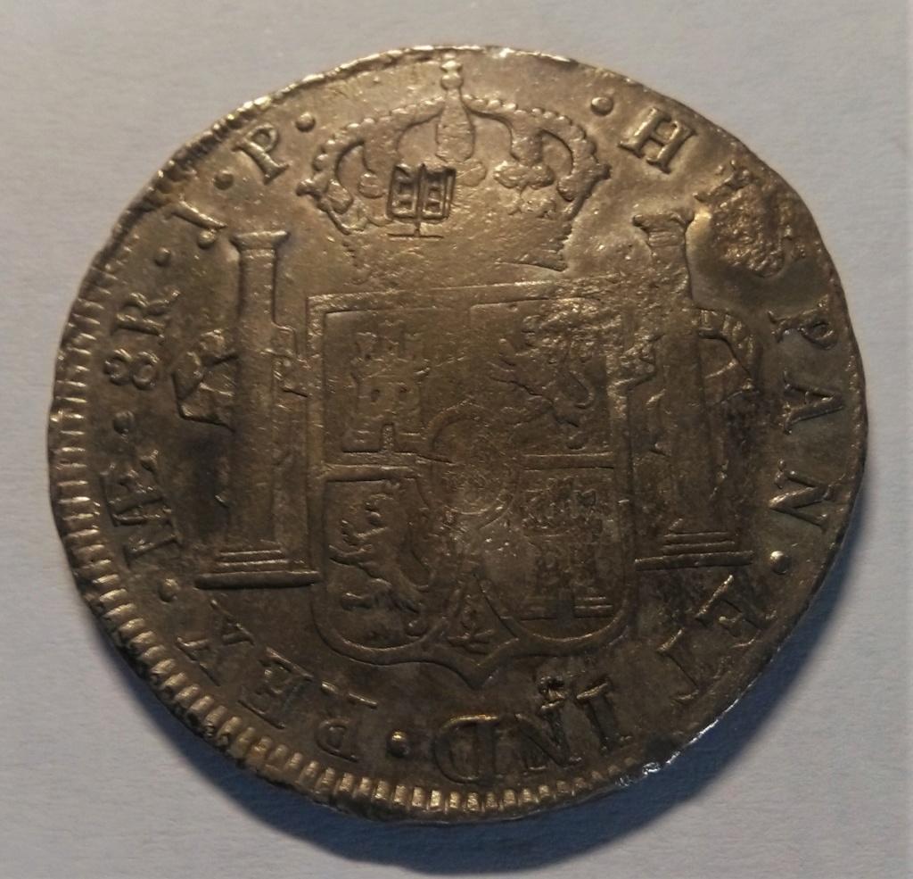 8 reales 1810. Fernando VII. Lima ¿Resellos japoneses? Img_2039