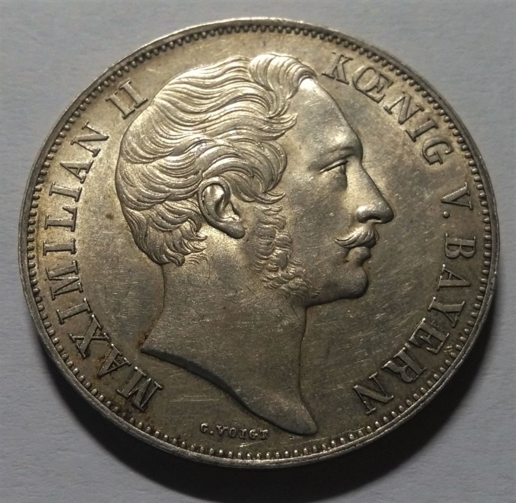 2 Gulden - Maximiliano II - Baviera, 1855 Img_2041
