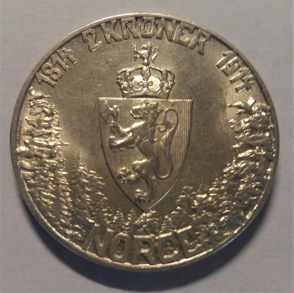 2 KRONER - Noruega, 1914 Img_2054