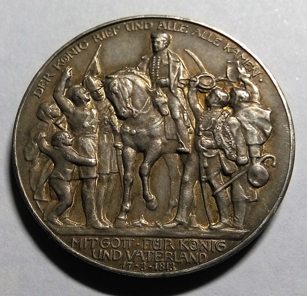 Declaración de guerra de Prusia - 3 Marcos - Prusia/Alemania, 1913 Img_2056