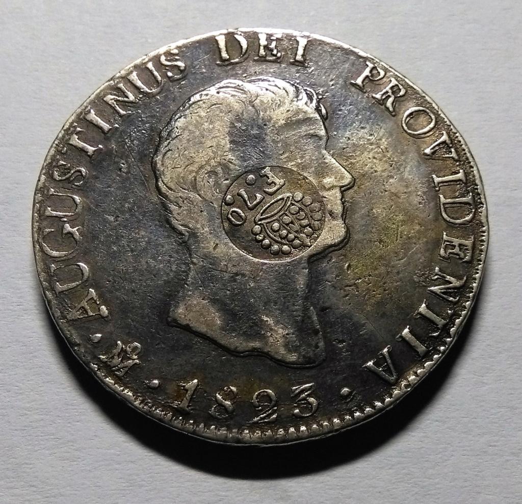 Manila: el resello de Fernando VII e Isabel II, 1828-1837. Dedicado a 10 pfennig Img_2060