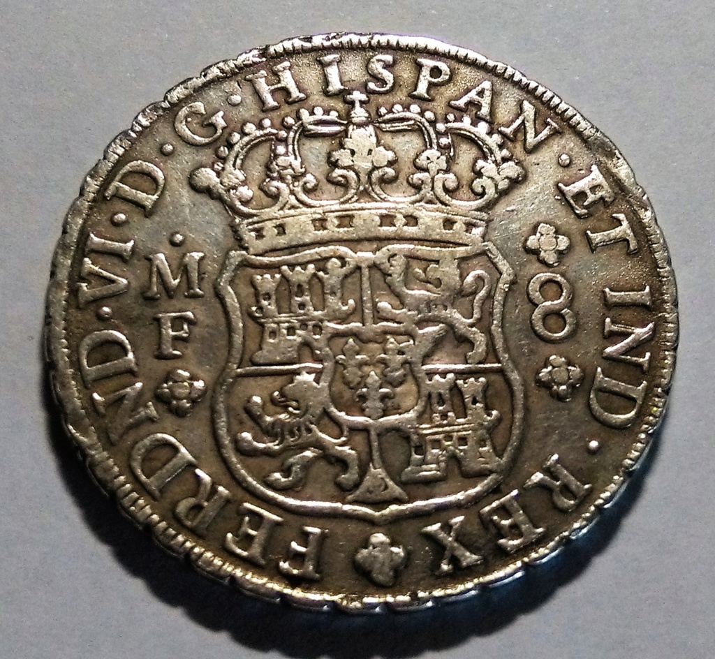 FERNANDO VI: 8 Reales - México, 1753 Img_2098