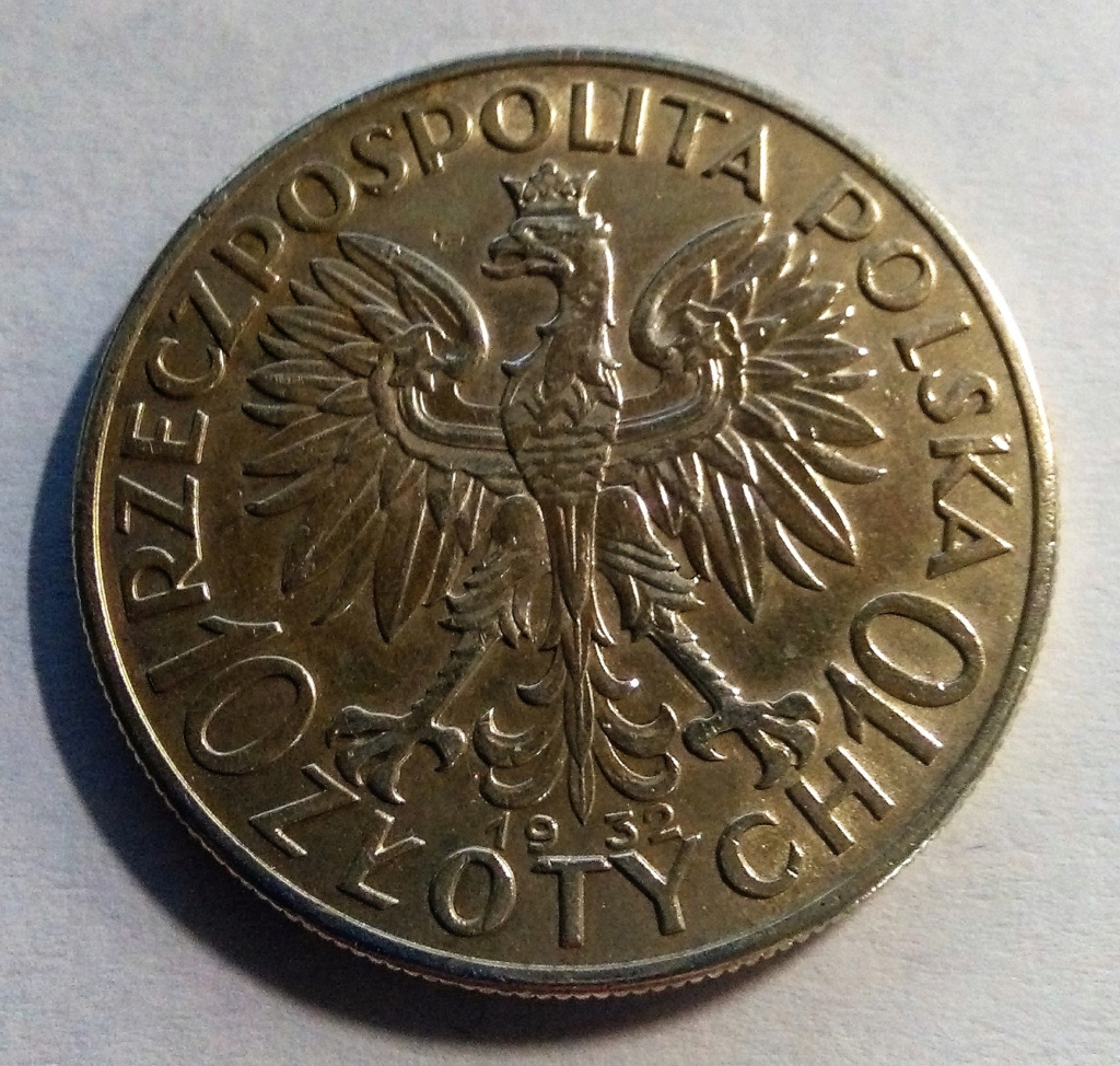 10 Zlotych - Polonia, 1932 Img_2106