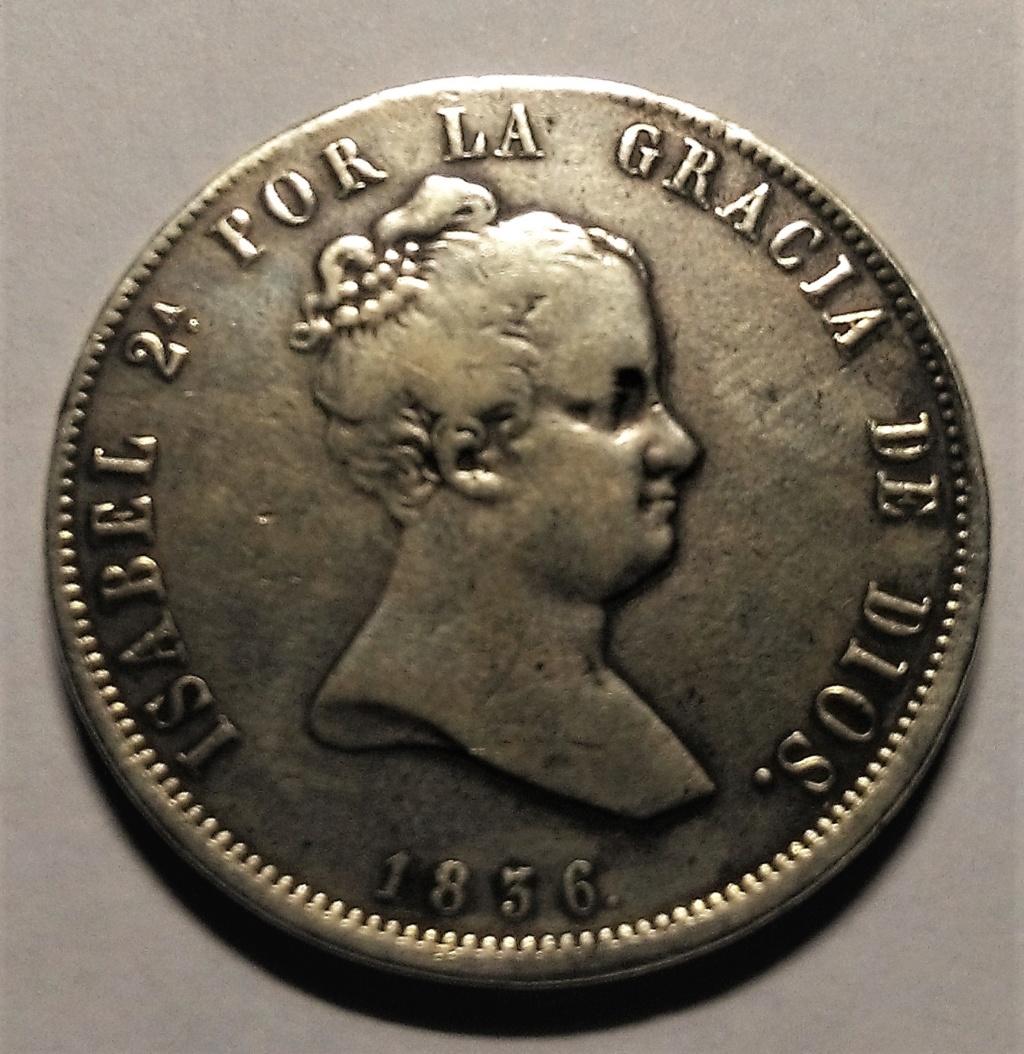 20 Reales 1836. Isabel II. Madrid Img_2125