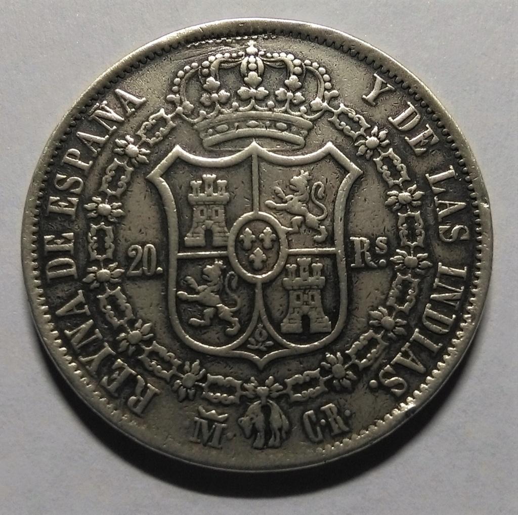 20 Reales 1836. Isabel II. Madrid Img_2126