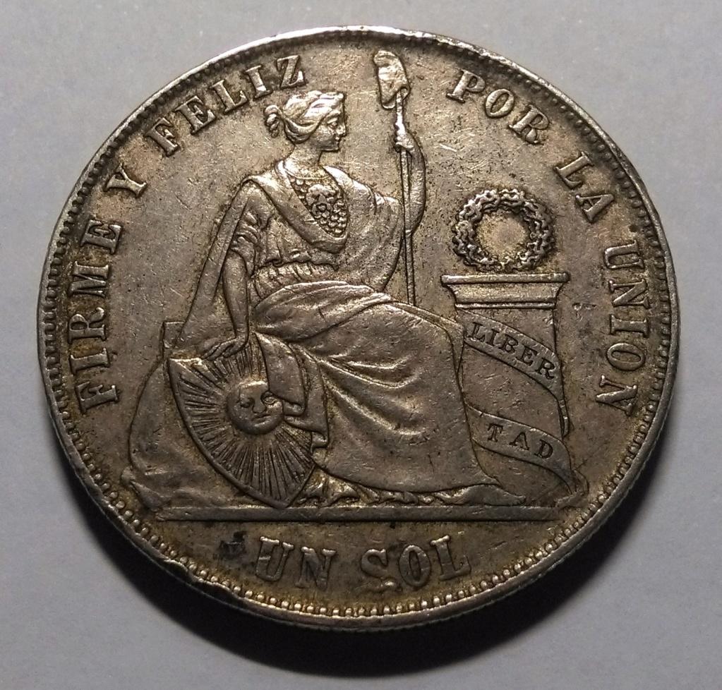 UN SOL - Perú, 1869 Img_2141