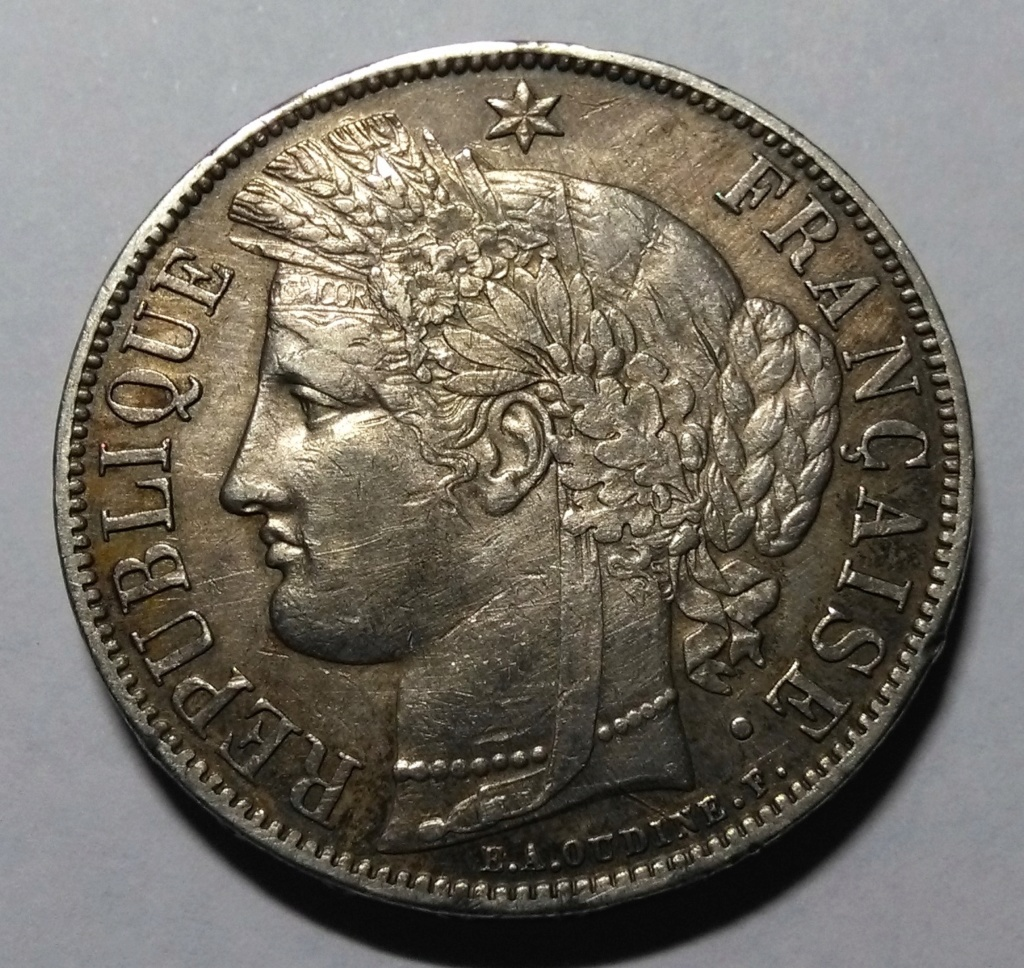 5 francos - Francia: 5 Francos de 1870 y la Comuna de París. Img_2155