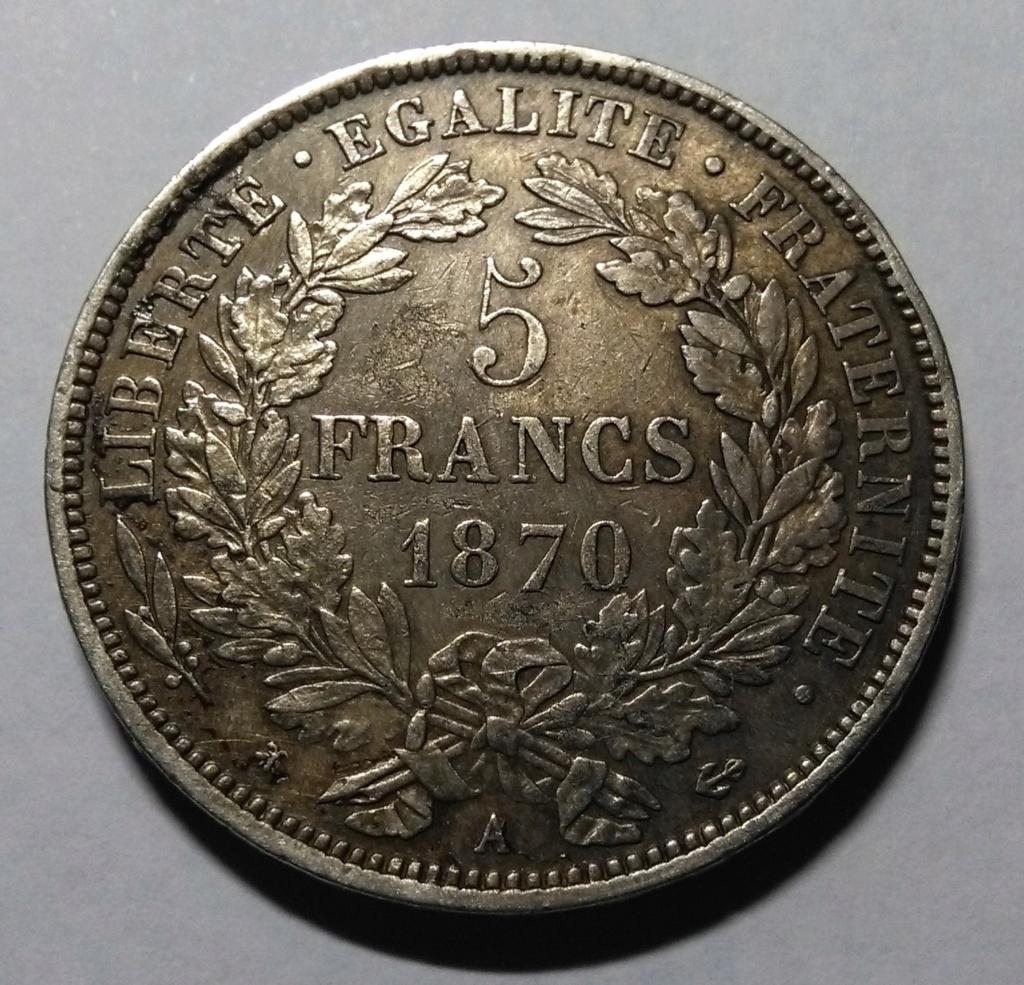 Francia: 5 Francos de 1870 y la Comuna de París. Img_2156