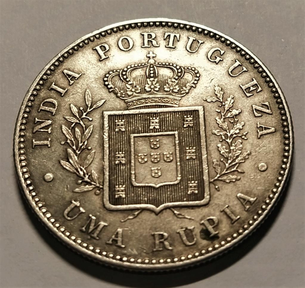 1 Rupia - India Portuguesa, 1882 - Luis I Img_2175