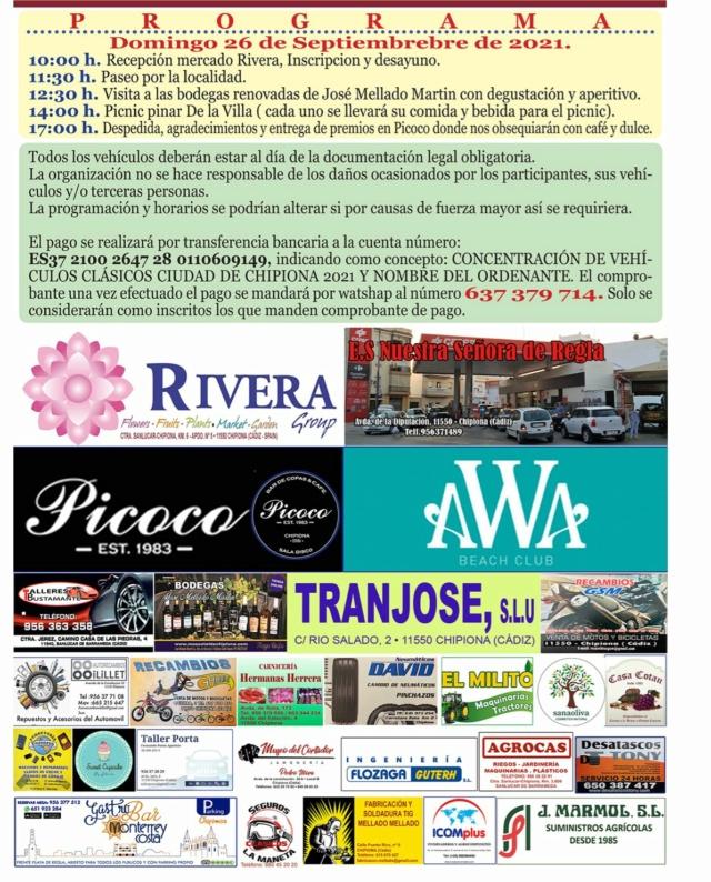 VI Concentración de Clásicos Ciudad de Chipiona - 26-9-21 Img-2026