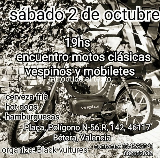 Reunión de Motos Clásicas en Bétera (Valencia) - 2-10-21 Img-2028