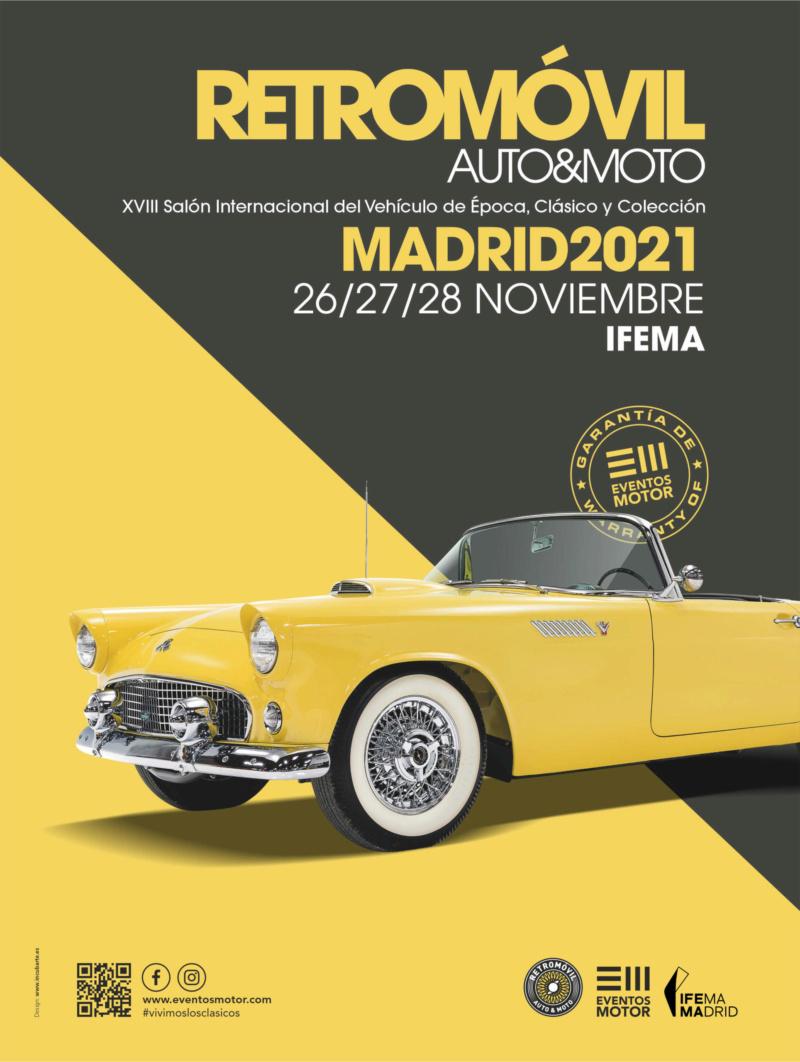 XVIII Retromóvil - Madrid, 26, 27 y 28 Nov. 2021 Retrom11