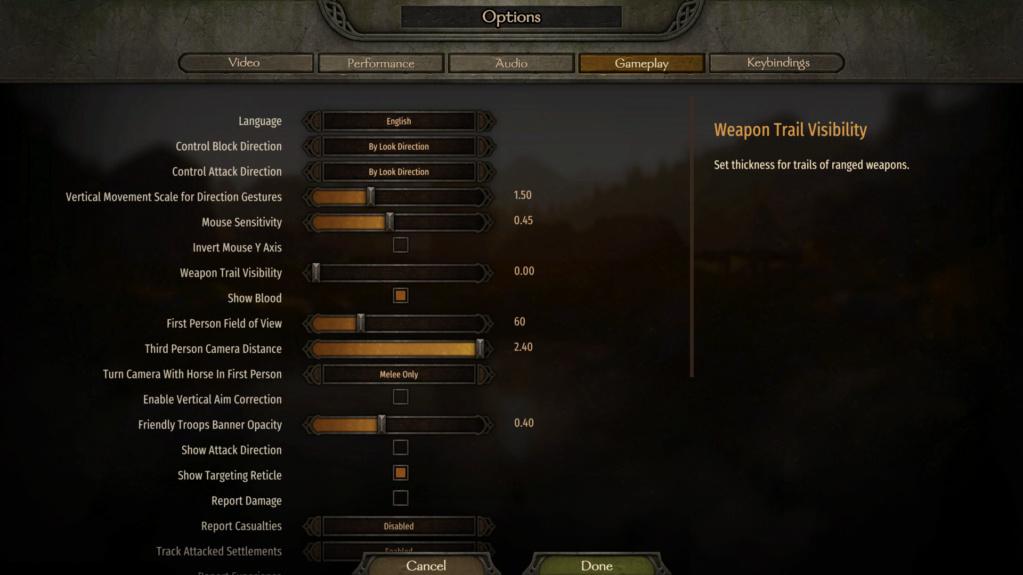 Bannerlord, packs de mod compatibles entre si y orden Ajuste10