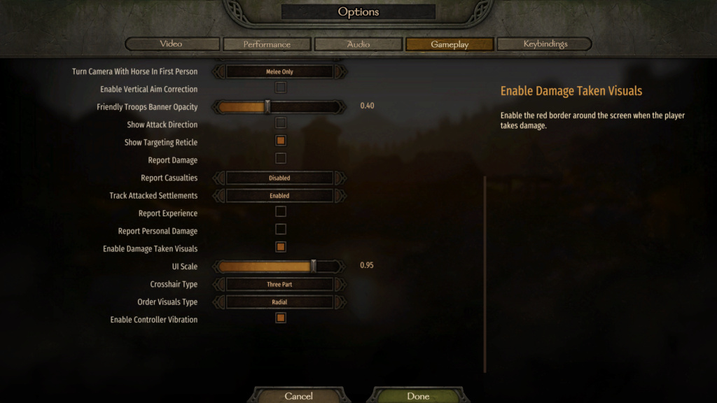 Bannerlord, packs de mod compatibles entre si y orden Ajuste11