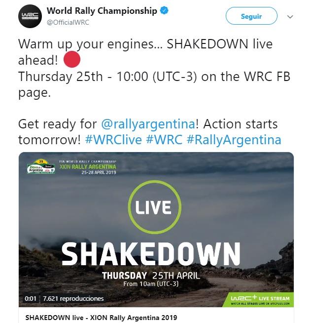 WRC: 39º XION Rallye Argentina [25-28 Abril] 19-04-12