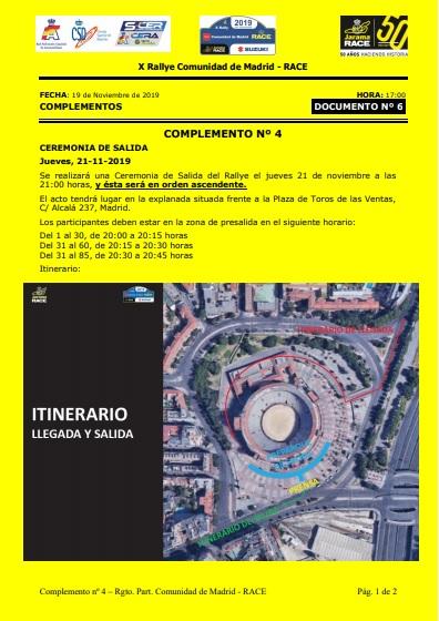 CERA: 10º Rallye Comunidad de Madrid - RACE [22-23 Noviembre] 19-11-11