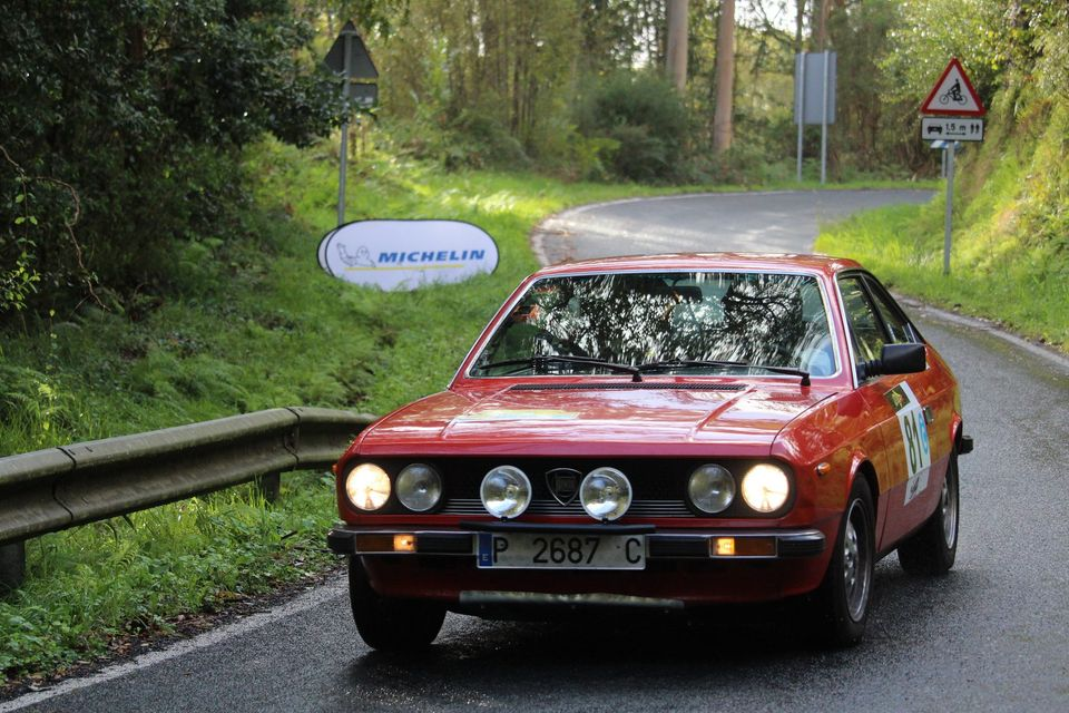 "[Retro Racing] Un Lancia Beta ""made in Spain"" en rallyes de historicos 20-10-11"