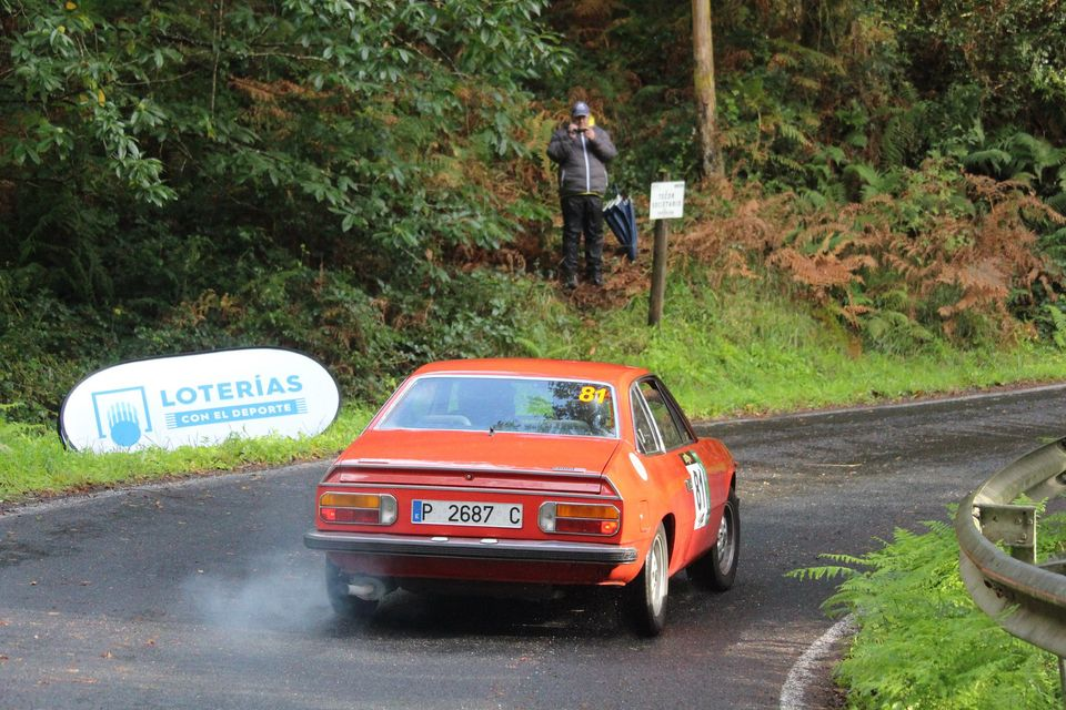 "[Retro Racing] Un Lancia Beta ""made in Spain"" en rallyes de historicos 20-10-12"