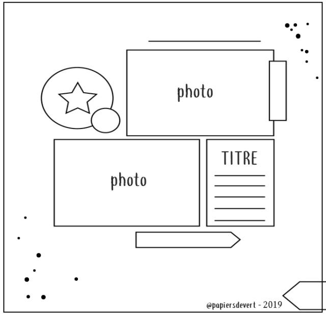 NSD: National Scrapbooking Day - Mai 2020 Sketch34
