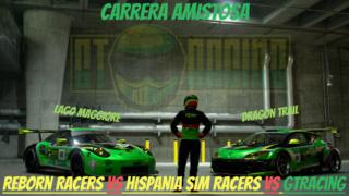 Carrera amistosa GTRacing VS Reborn Racers VS Hispania Sim Racers Cartel11