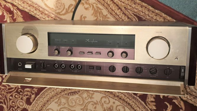 Accuphase hi-end c260 preamp re post buyer not turn up 20190616