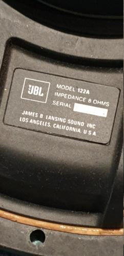 "jbl l65 pair alnico 12"" woofer (used) 20191013"