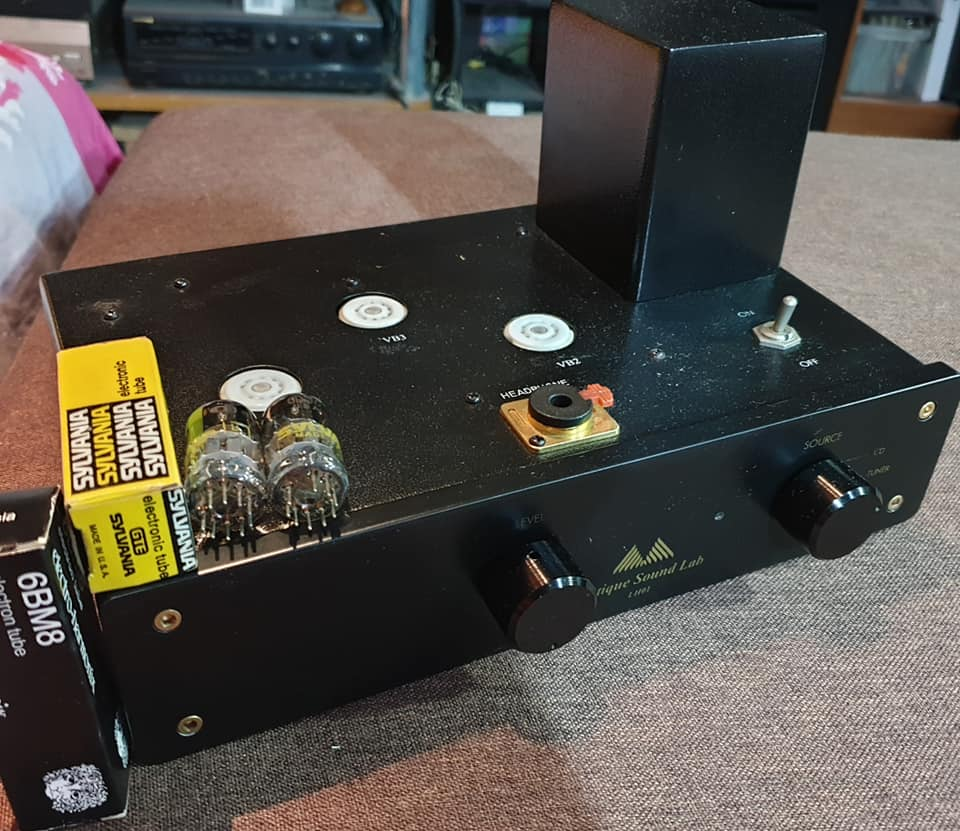 antique sound labs (ASL) lh01 tubes preamp for sell Asl_110