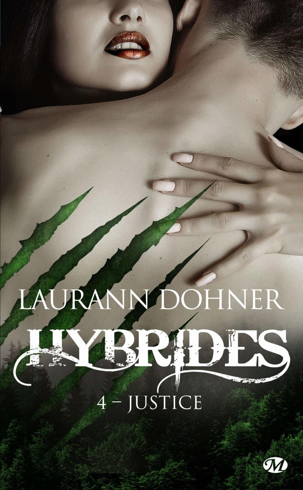 DOHNER Laurann - HYBRIDES - Tome 4 : Justice Hybrid11