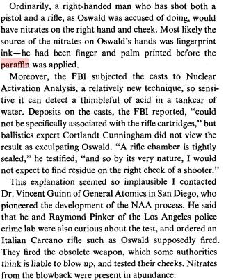 Oswald's Paraffin Casts Turner11